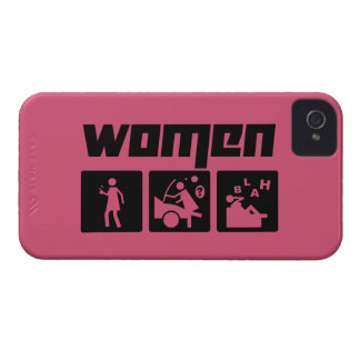 Women 3 iPhone 4 case