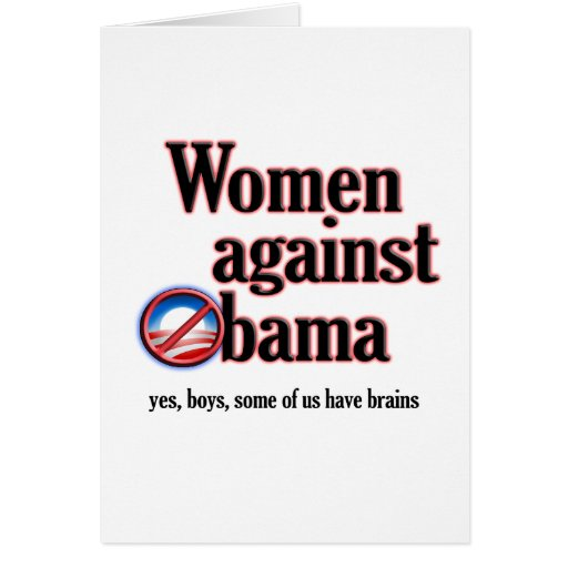 Women Against Obama Cards