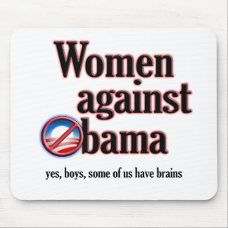 Women Against Obama Mouse Pad