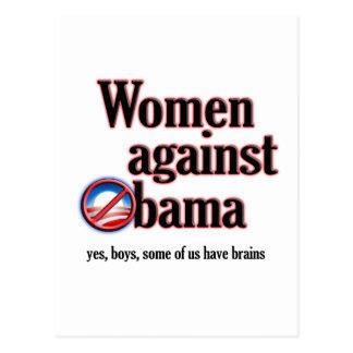Women Against Obama Postcard