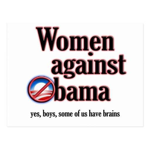 Women Against Obama Postcards
