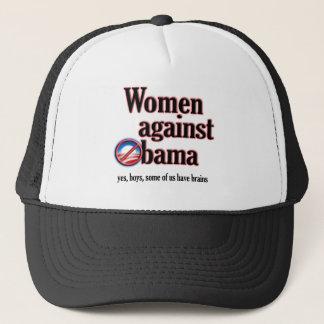 Women Against Obama Trucker Hat