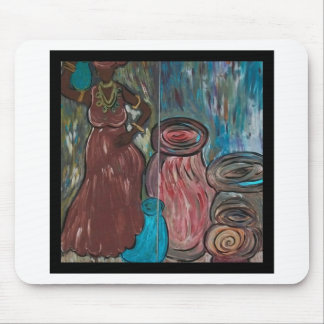 Women and Water Sustainers of Life Mousepads