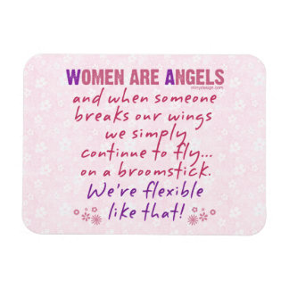 Women are Angels Magnet