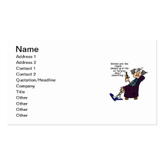 Women Are Like Angels Double-Sided Standard Business Cards (Pack Of 100)
