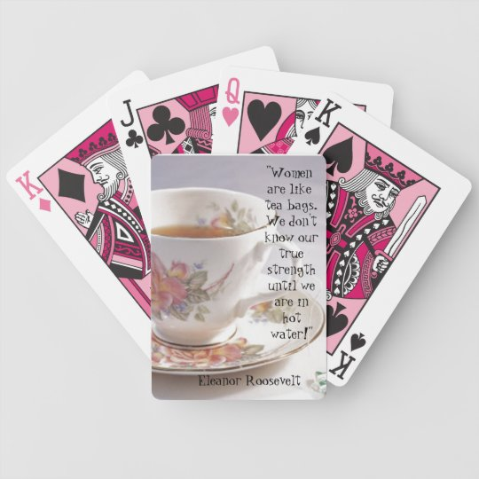 Women are like.... bicycle playing cards