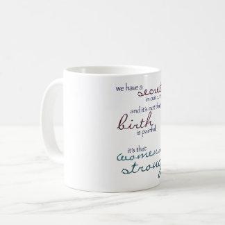 women are strong mug