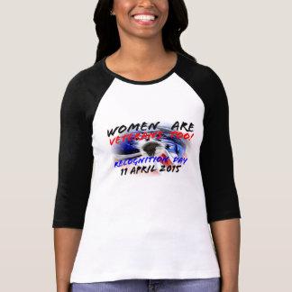 Women Are Veterans Too! T-shirt