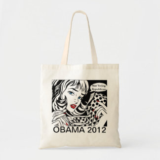Women Are Voting for Barack Obama Totebag Tote Bag