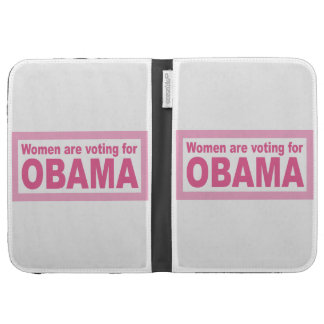 Women Are Voting For Obama Kindle Cases