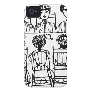 Women at a Dinner Party iPhone 4 Cover