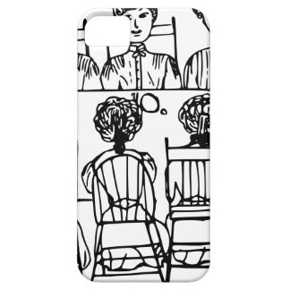 Women at a Dinner Party iPhone SE/5/5s Case