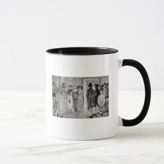 Women at the Polls in New Jersey Mug
