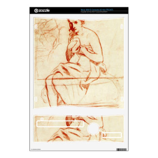 Women at the Toilet by Edouard Manet Xbox 360 S Console Skin