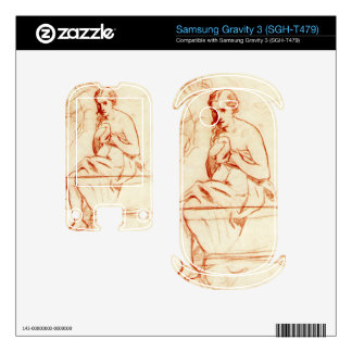 Women at the Toilet by Edouard Manet Samsung Gravity 3 Skin