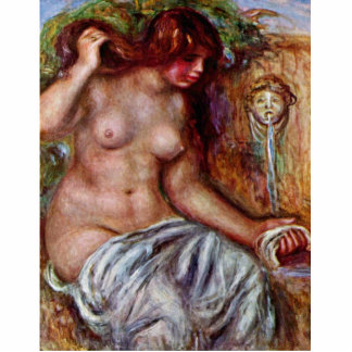 Women At The Well By Pierre-Auguste Renoir Photo Cut Out
