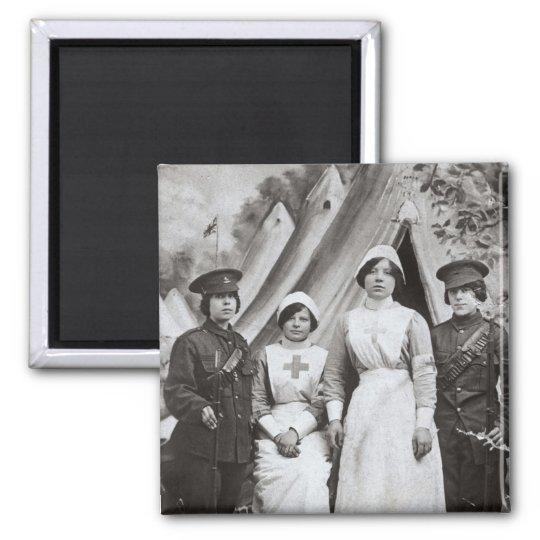 Women at War, 1914-18 Magnet