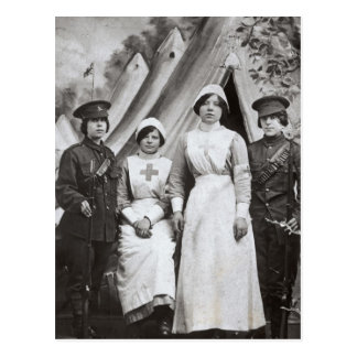 Women at War, 1914-18 Postcard