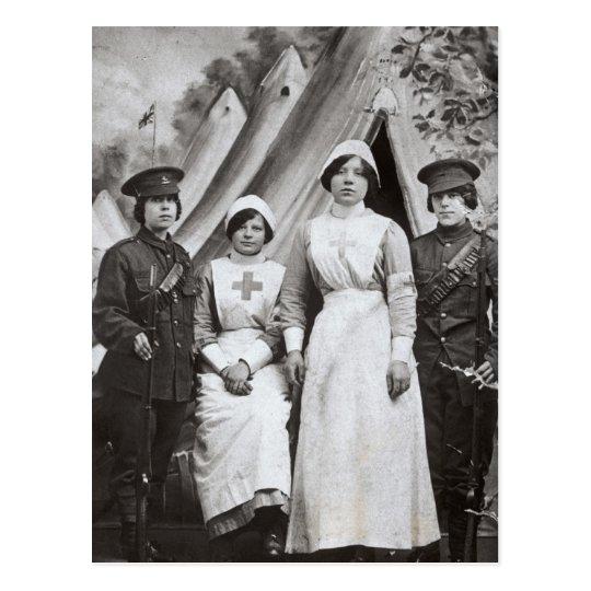 Women at War, 1914-18 Postcard