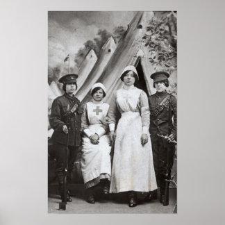 Women at War, 1914-18 Poster