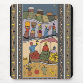 Women at work mouse pad