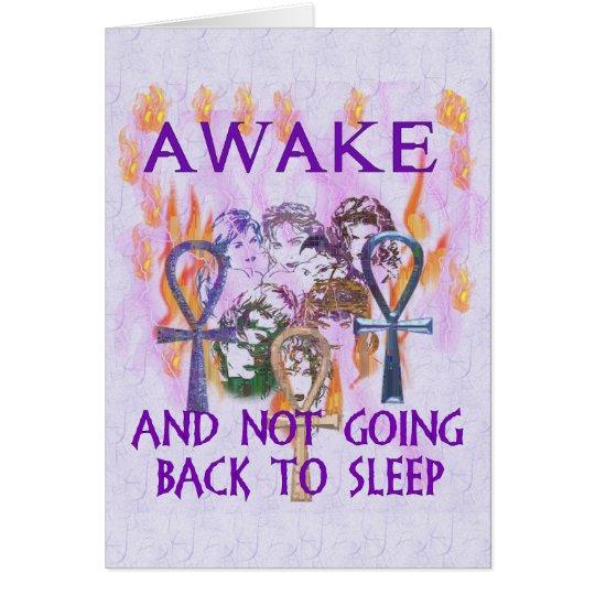 Women Awake Card