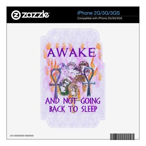 Women Awake Decal For iPhone 2G