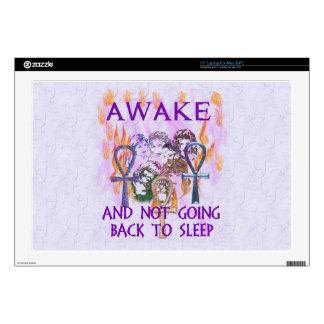 "Women Awake Decals For 17"" Laptops"