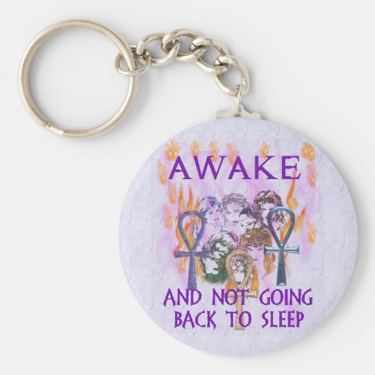 Women Awake Keychain
