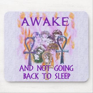 Women Awake Mouse Pad