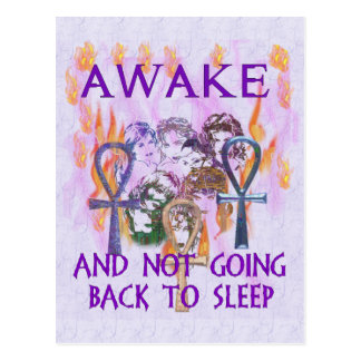 Women Awake Postcard