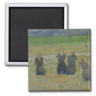 Women Bathing by Paul Gauguin Magnet