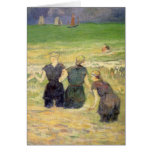 Women Bathing Dieppe, Gauguin, Post Impressionism Greeting Cards