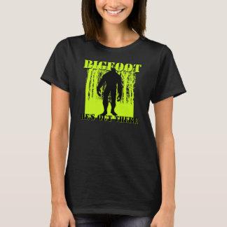 Women Bigfoot T-Shirt