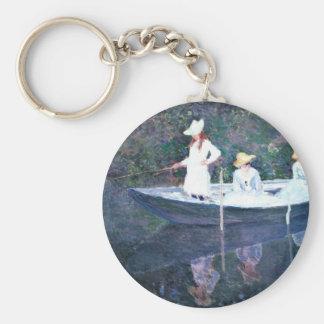 Women Boating - Claude Monet Keychain