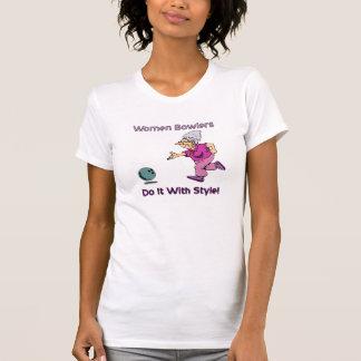 Women Bowlers Shirts