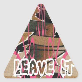 Women & children Life is not fair; get used to it. Triangle Sticker