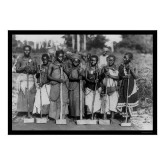 Women Convicts Tanganyika 1895 Poster