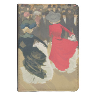 Women Dancing the Can-Can Kindle Touch Case