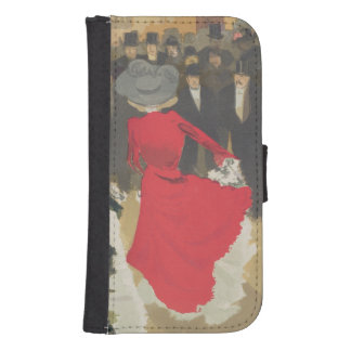 Women Dancing the Can-Can Galaxy S4 Wallet Case