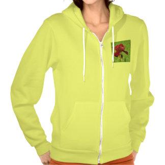 """Women Deluxe Hoodies 2029"""" - Neon Yellow Jacket."""
