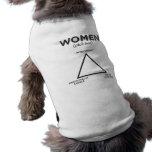 Women Diagram - pick two Dog T Shirt