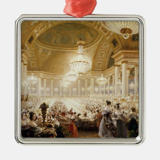 Women Dining at the Tuileries in 1835 Christmas Tree Ornament