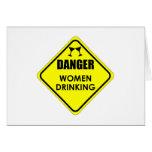 Women Drinking Card
