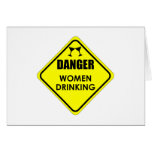 Women Drinking Stationery Note Card