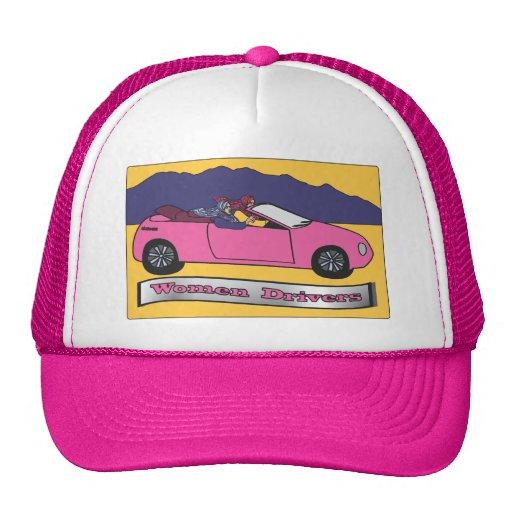 Women Drivers Trucker Hats