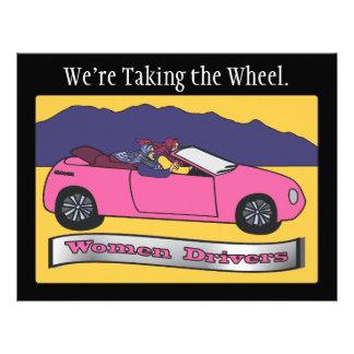 Women Drivers ~ We're Taking the Wheel Flyers