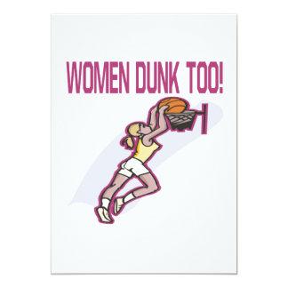 Women Dunk Too Card