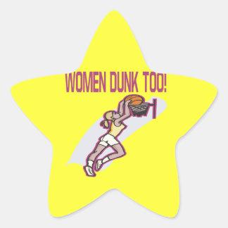 Women Dunk Too Star Sticker