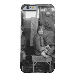 Women electric welders at Hog_War image Barely There iPhone 6 Case